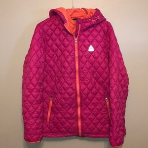 Reebok Quilted Puffer Jacket